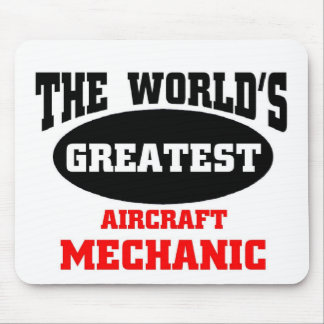 Greatest Aircraft Mechanic Mouse Pad