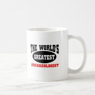 Greatest Archaeologist Classic White Coffee Mug