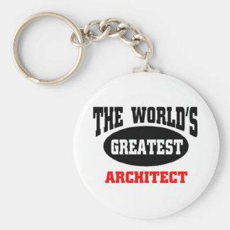 Greatest architect keychain