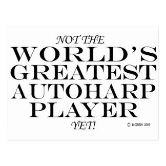 Greatest Autoharp Player Yet Postcard