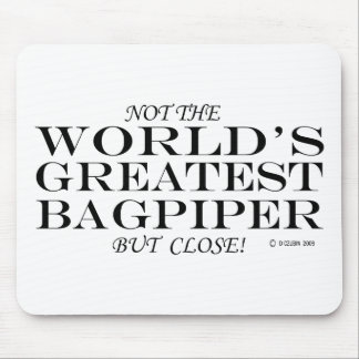 Greatest Bagpiper Close Mouse Pads