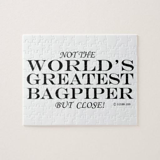 Greatest Bagpiper Close Puzzle