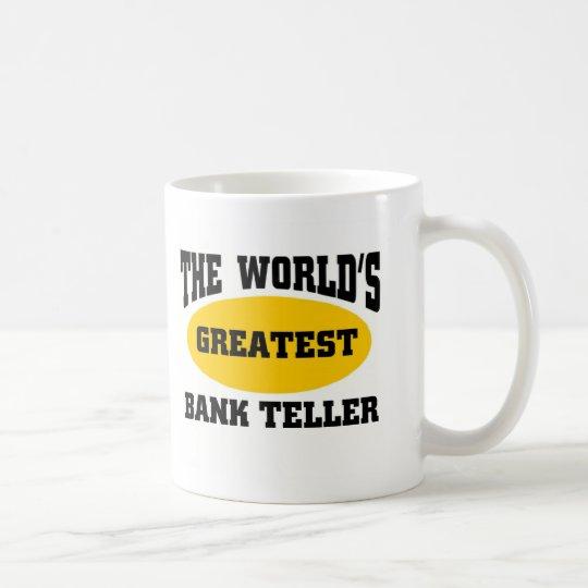 GREATEST BANK TELLER COFFEE MUG