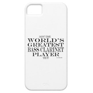 Greatest Bass Clarinet Player Yet iPhone 5/5S Cases