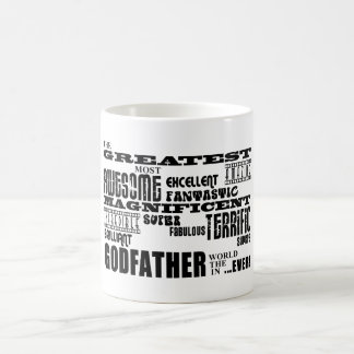Greatest Best Godfathers Birthdays Christmas Classic White Coffee Mug