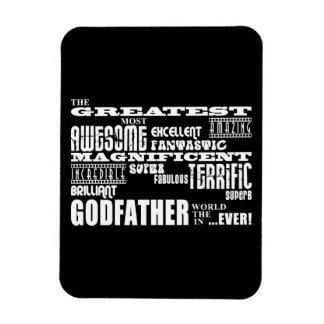 Greatest Best Godfathers Birthdays Christmas Rectangular Photo Magnet