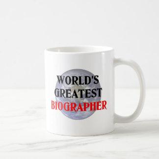 Greatest Biographer Coffee Mug
