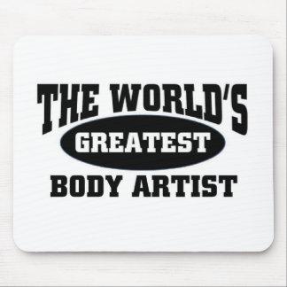 Greatest body artist mousepad