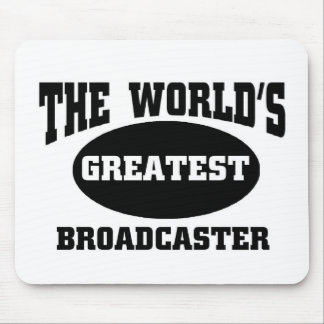 GREATEST BROADCASTER MOUSE PAD