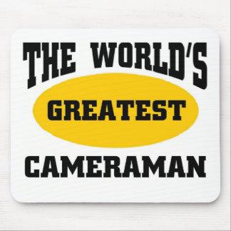 Greatest cameraman mouse mats
