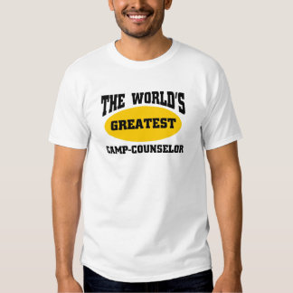 Greatest camp-counselor t shirts