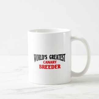Greatest Canary Breeder Mugs