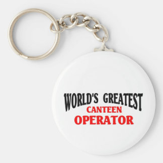 Greatest Canteen Operator Keychain