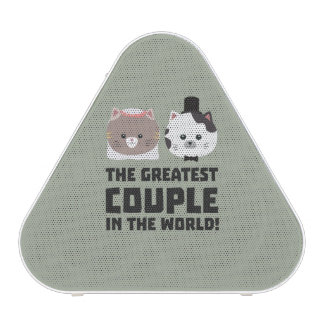 Greatest Cat Couple in the world Zd2n1 Bluetooth Speaker