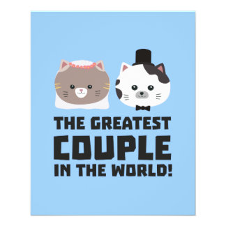 Greatest Cat Couple in the world Zd2n1 Flyer