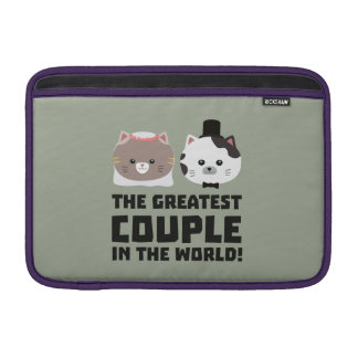 Greatest Cat Couple in the world Zd2n1 Sleeve For MacBook Air
