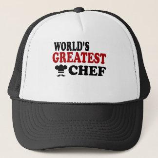 GREATEST CHEF TRUCKER HAT