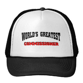 Greatest Commissioner Trucker Hat
