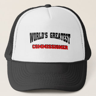 Greatest Commissioner Trucker Hat
