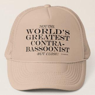 Greatest Contrabassoonist Close Trucker Hat