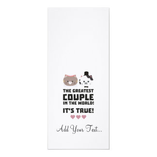 Greatest Couple in the World Its true Z3j3h Card