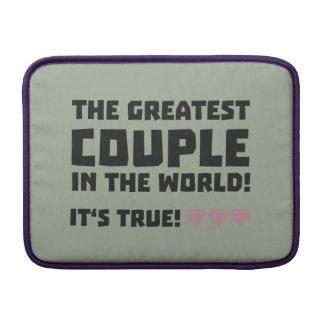 Greatest Couple in the world  Z5rz0 MacBook Sleeve
