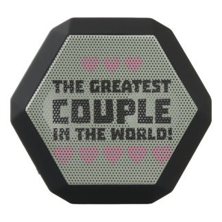 Greatest Couple Love Zg5qi Black Bluetooth Speaker