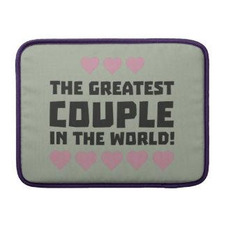 Greatest Couple Love Zg5qi MacBook Air Sleeve