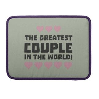 Greatest Couple Love Zg5qi Sleeve For MacBooks