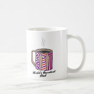 Greatest Dad Coffee Classic White Coffee Mug