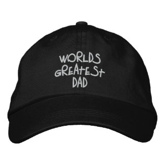 Greatest Dad Embroidered Hat