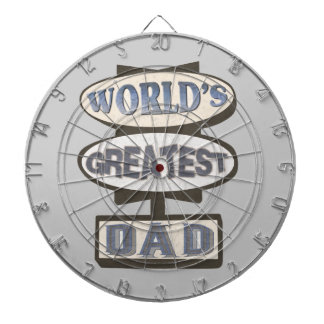 Greatest Dad Father Custom ProfiledInk Dart Board