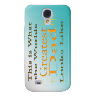 Greatest Dad - Father's Day  Galaxy S4 Cover