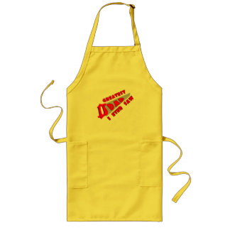 Greatest Dad Fathers Day Gifts Long Apron