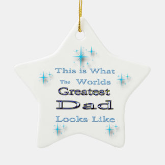 Greatest Dad - Father's Day Ornament