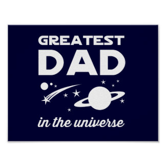 Greatest Dad in the Universe Poster