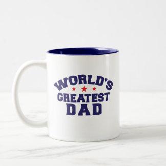 Greatest-dad Two-Tone Coffee Mug