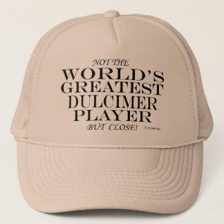 Greatest Dulcimer Player Close Trucker Hat