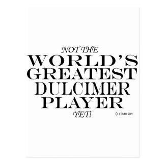 Greatest Dulcimer Player Yet Postcard