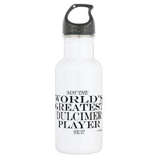Greatest Dulcimer Player Yet Water Bottle