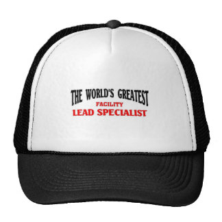 Greatest facility lead specialist trucker hat