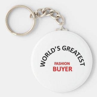 Greatest Fashion Buyer Keychain
