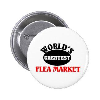 Greatest Flea market Pinback Button