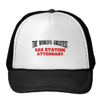 Greatest Gas Station Attendant Trucker Hat