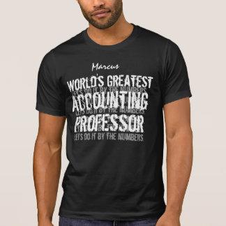 Greatest Gift C02 de la contabilidad de profesor Remeras