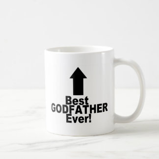 Greatest Godfather Classic White Coffee Mug
