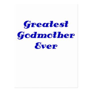 Greatest Godmother Ever Postcard
