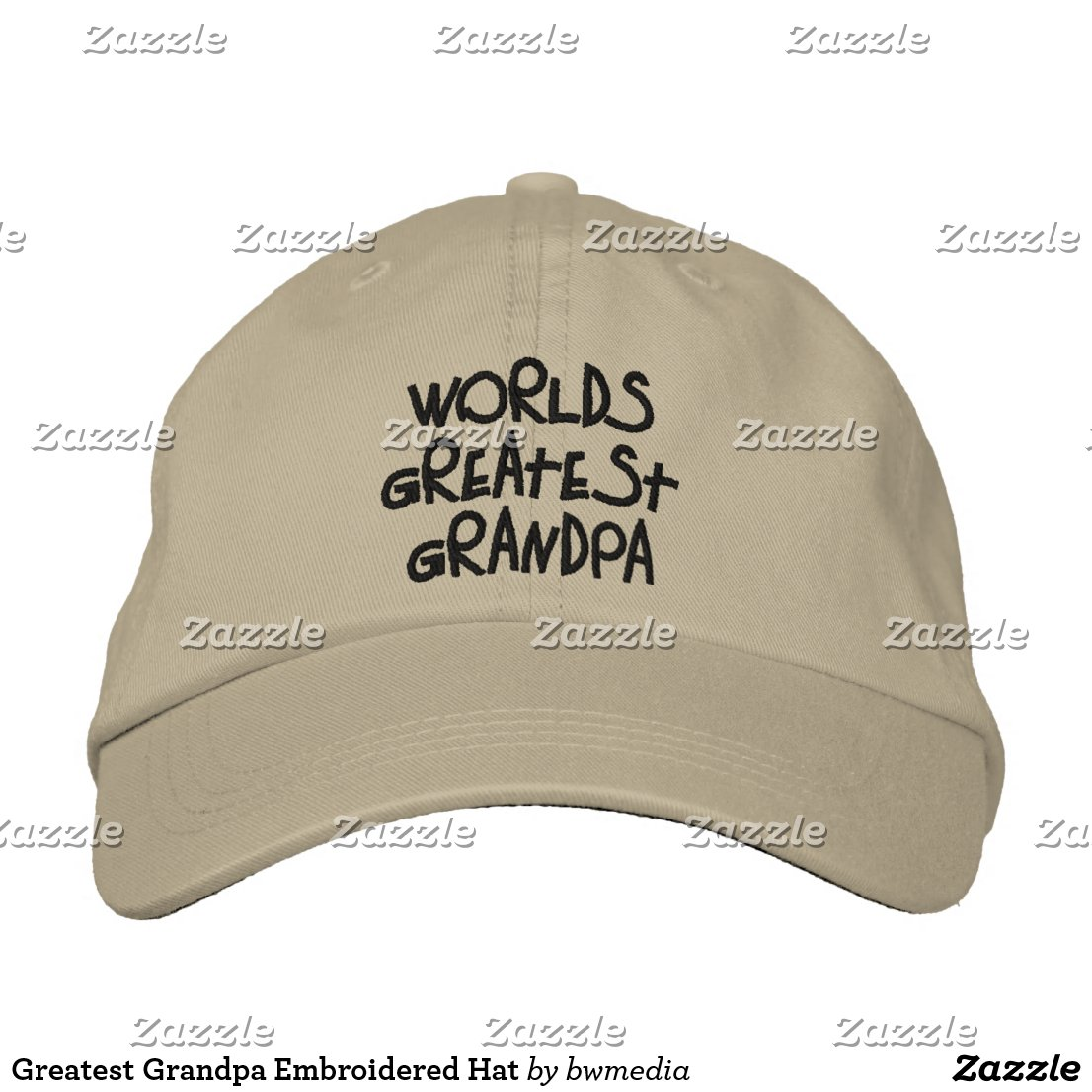 Greatest Grandpa Embroidered Hat