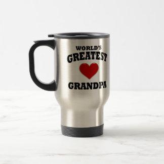 Greatest Grandpa Travel Mug