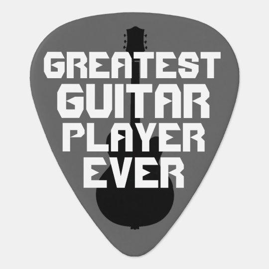 greatest guitar player ever cool guitar pick. Black Bedroom Furniture Sets. Home Design Ideas